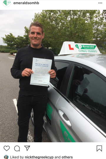 George Driving Lesson Herne Bay Emerald School of Motoring